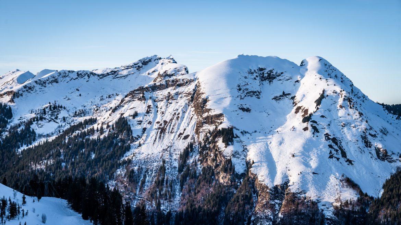 Vue depuis Avoriaz en Haute-Savoie