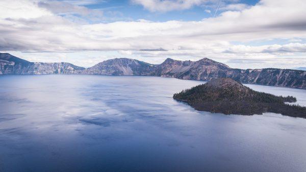 USA, Oregon, Vue du Crater Lake